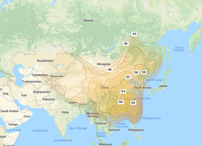 Central and Southern Asia