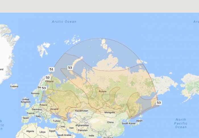 Map 401.Yamal 401 At 90 0 E Lyngsat Maps